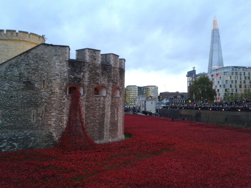 Love Letter to London: Poppies