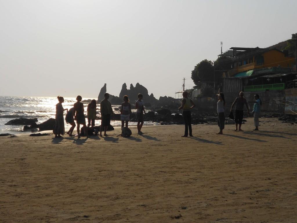 Solo female traveller in Goa
