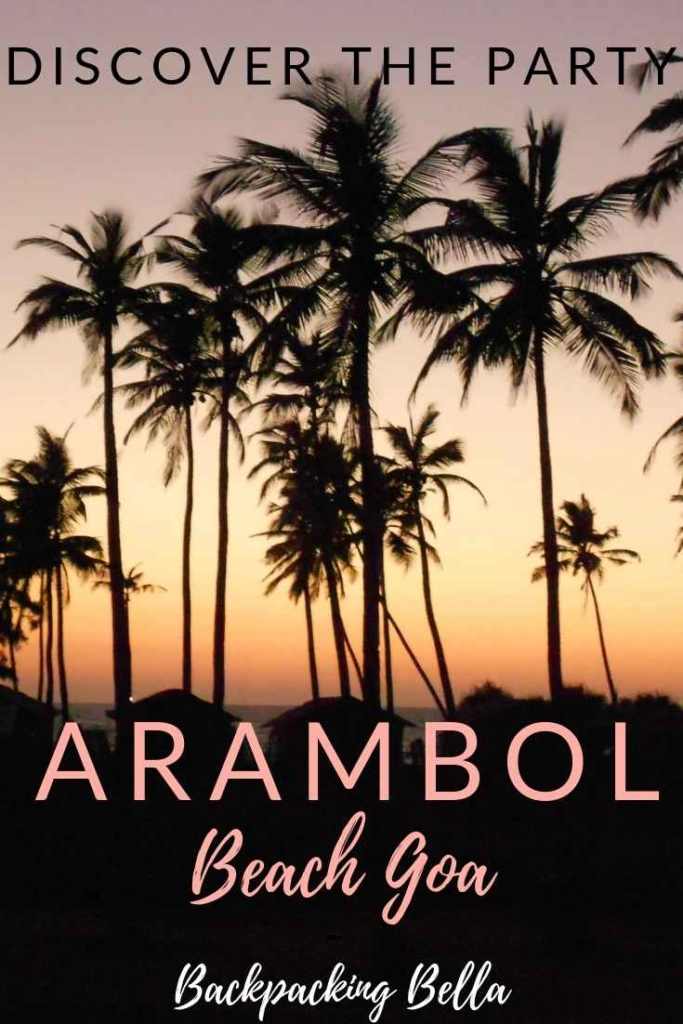 arambol beach party